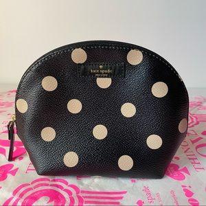"Kate Spade ""Keri"" Polka Dot Small Cosmetic Bag"